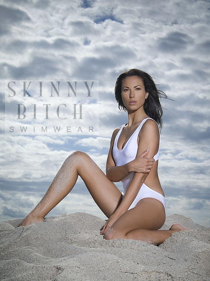 south beach - with christian Dec 07, 2007 Skinny Bitch Swimwear ™ PRIDE in white on Skinny BITCH!