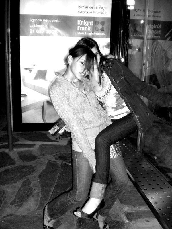 Female model photo shoot of Martha Lucia in Madrid, Spain