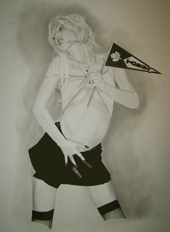 Dec 09, 2007 I screwed up the skirt on this by spilling ink on, the skirt should be a school girl skirt. Go Maple Leafs