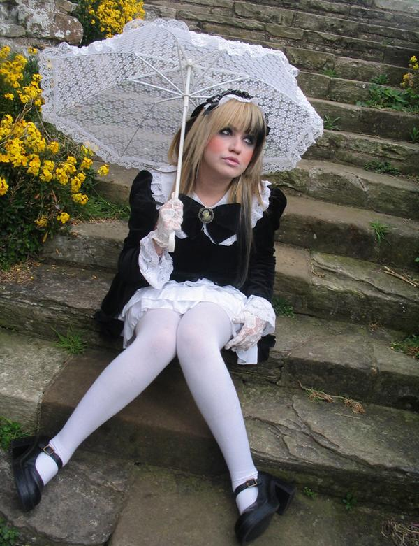 Whitby Abbey Dec 10, 2007 2007 Eva Concept Photography Elegant Gothic Lolita