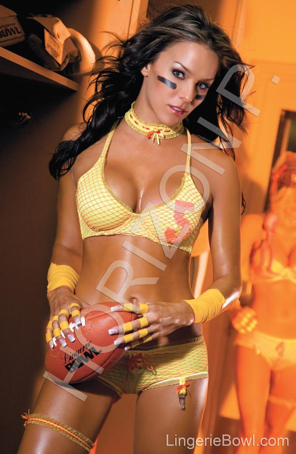 Dec 10, 2007 Lingerie Bowl Calendar 2009 Model- Shannon