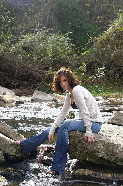 Female model photo shoot of Sonja Christine and Jenn-Jenn by iso200 in Round Rock Memorial Park