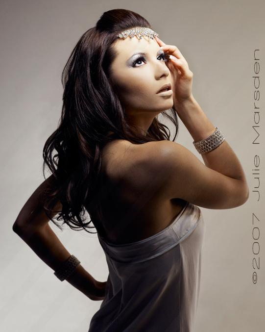 Dec 12, 2007 ©2007 Julie Marsden Snow Queen (Model: Ada A)