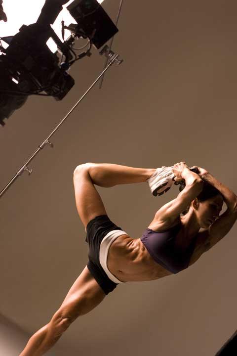 Dec 12, 2007 Hoist Fitness video production shoot