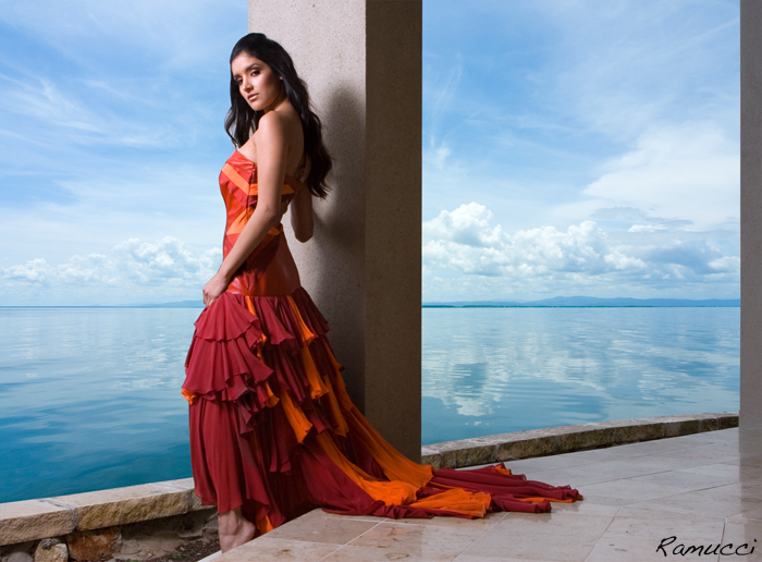 Female model photo shoot of Kristen Kuns-Gomez and Vanadia Badillo by Scott Ramsay Images in Southern Belize