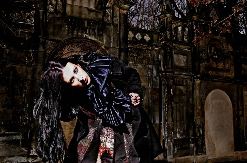Female model photo shoot of khiria in Prague