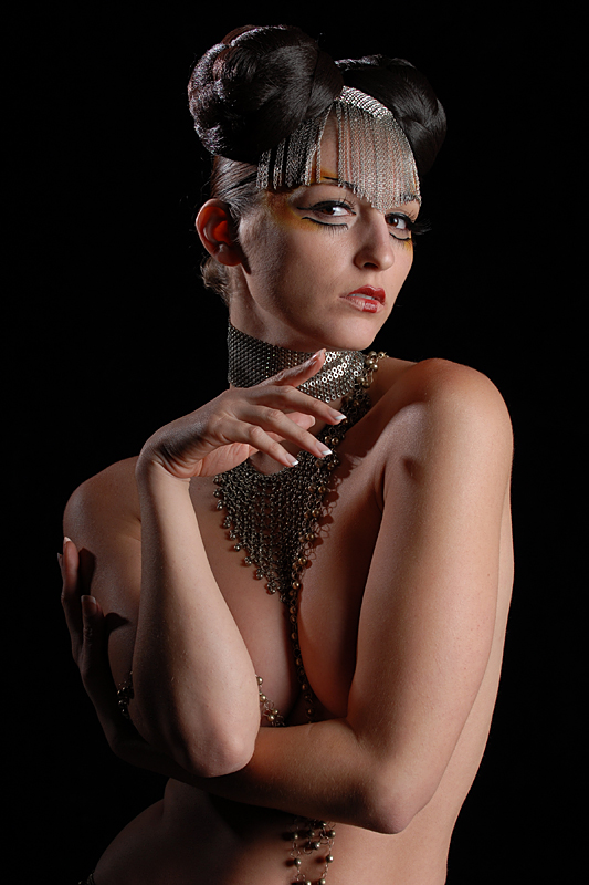 Dallas, Tx. Dec 18, 2007 Carlotta Champagne-I did her hair,makeup,& wardrobe 11-07