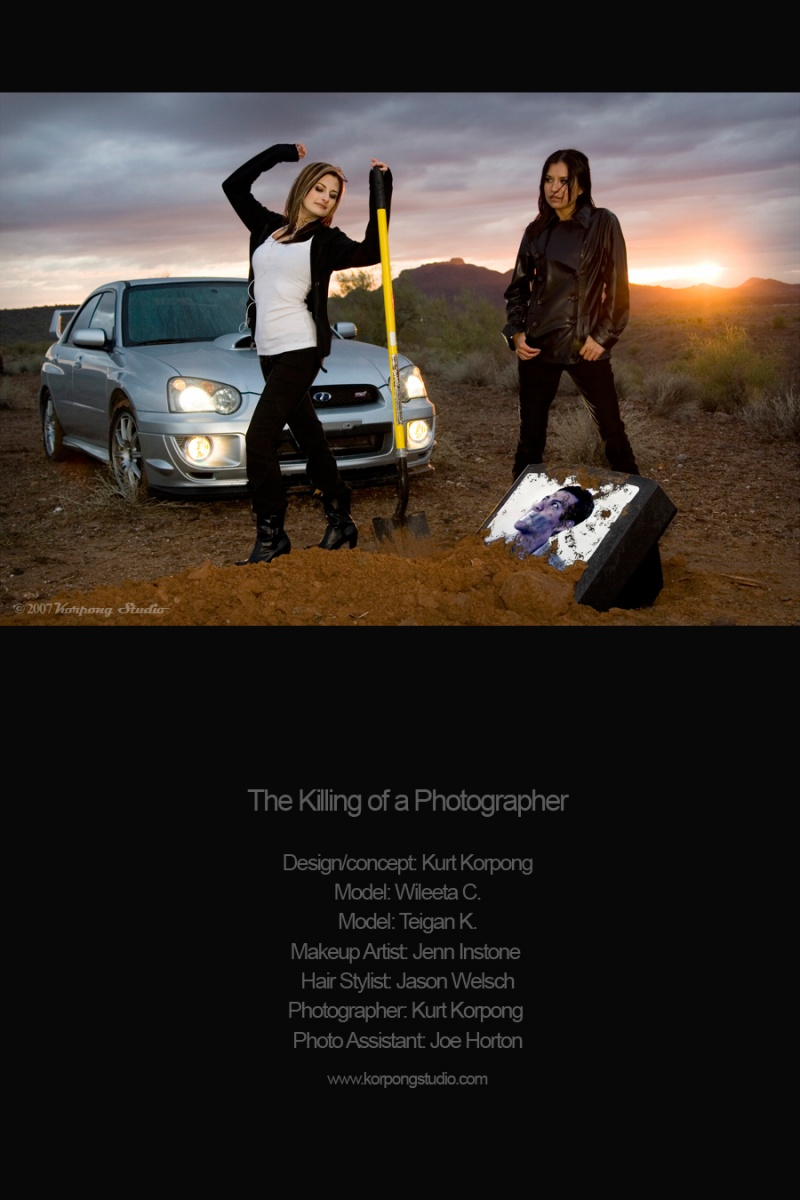 Dec 19, 2007 Korpong Studio ©2007 The Killing of a Photographer