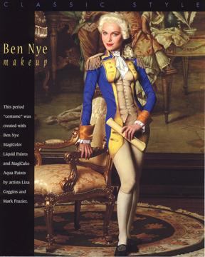 Dec 19, 2007 Ben Nye Classic Bodypaint
