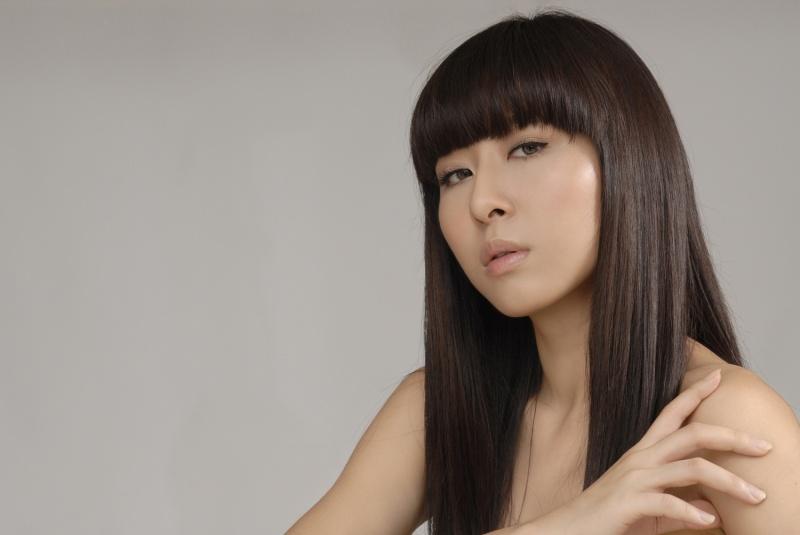 Female model photo shoot of Nadya Lam by Jones Soong, makeup by N-Wi