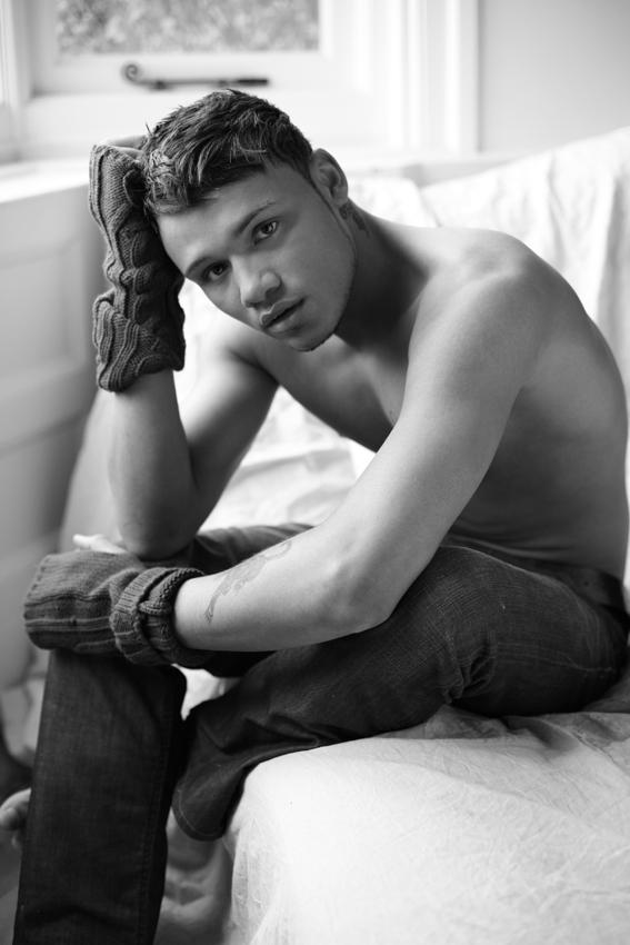 Male model photo shoot of TAYE MODEL LONDON