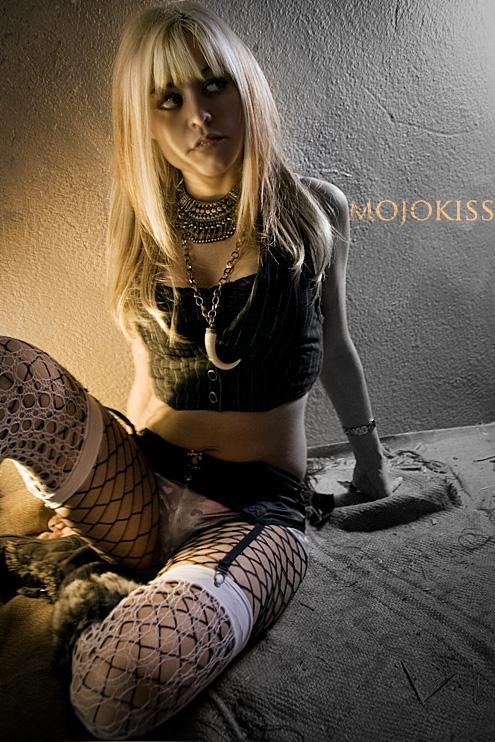 Female model photo shoot of Catherine K Foxx by mojokiss in In my box