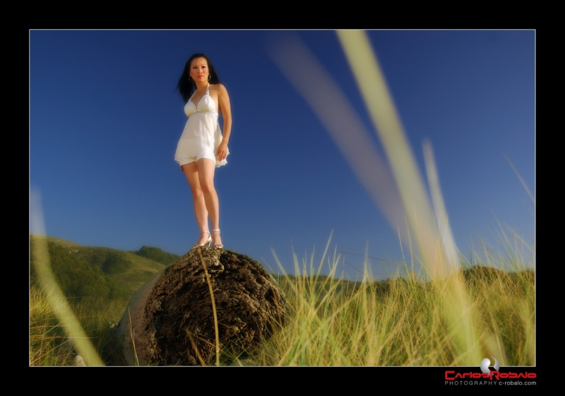 Male and Female model photo shoot of C J A Robalo and Laina Tran in California