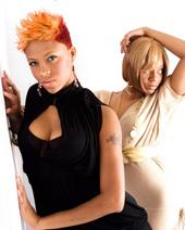 Female model photo shoot of THE HAIR QUEEN