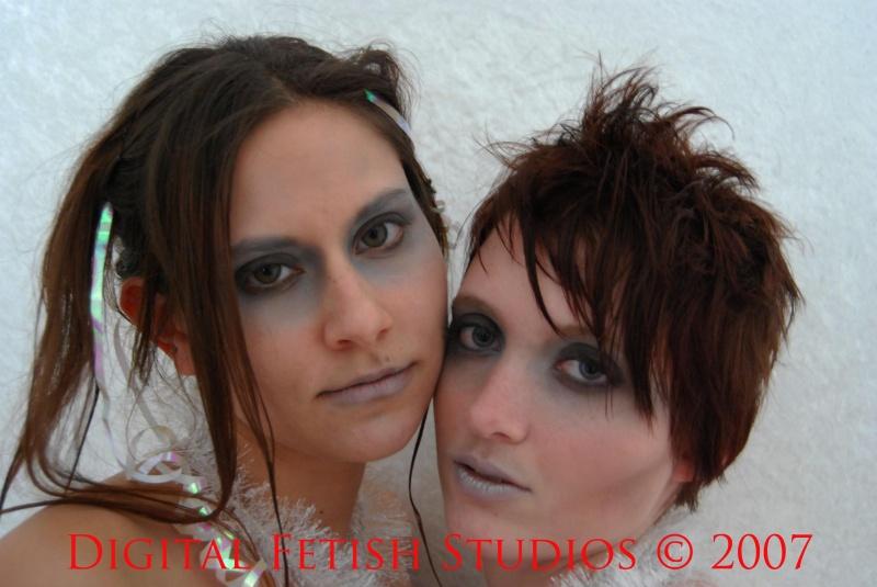 Male and Female model photo shoot of DigitalFetishStudios and Vika Noxx in Digital Fetish Studios, Hershey PA