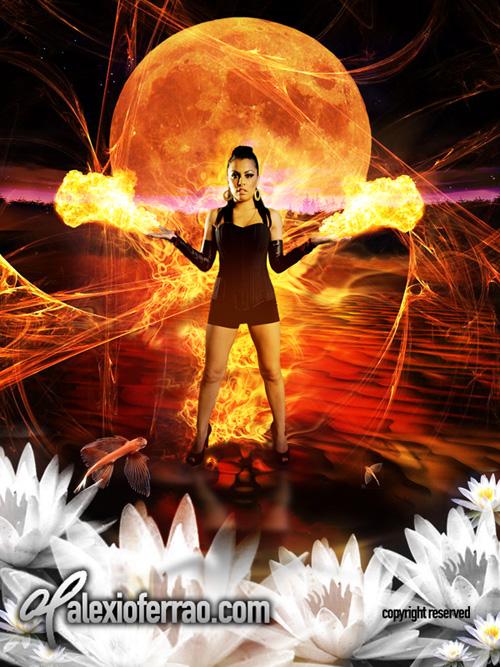 Fantasy Concept Dec 24, 2007 Alexio Ferrao Burning Sensation