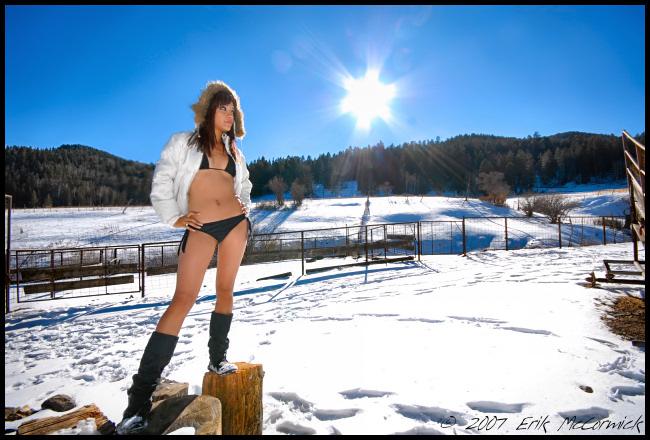 Sacramento Mountains, NM Dec 24, 2007 © Erik McCormick Zulema