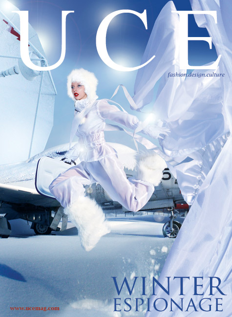 Canada Dec 25, 2007 UCE Magazine Winter Espionage Cover photographed by Skins Interactive