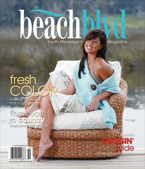 Biloxi, MS Dec 30, 2007 BeachBlvd Magazine (photo by Drew Tarter) My First Cover