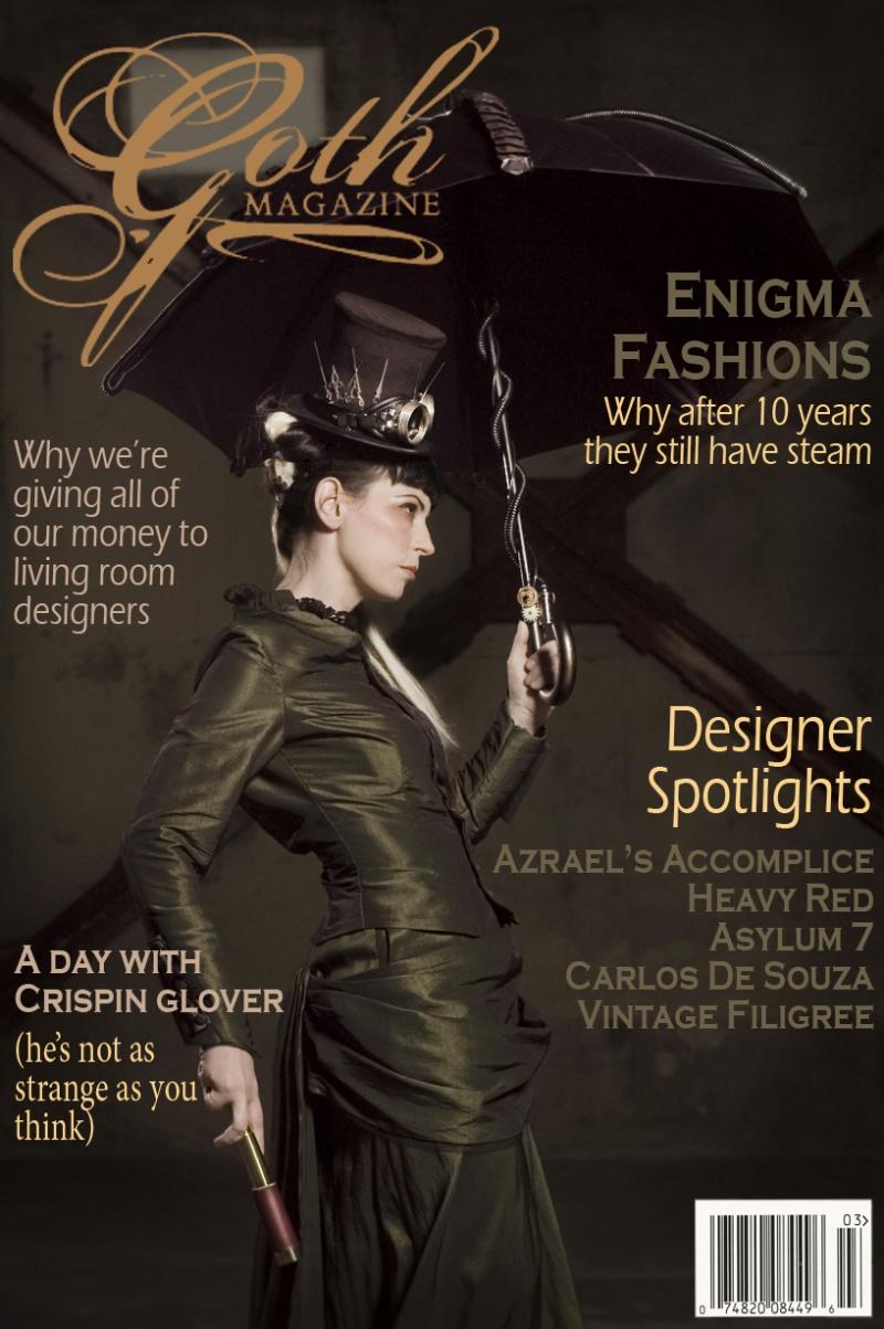 Packard Building Dec 30, 2007 Derek Caballero/ Enigma Fashions GOTH Magazine #2