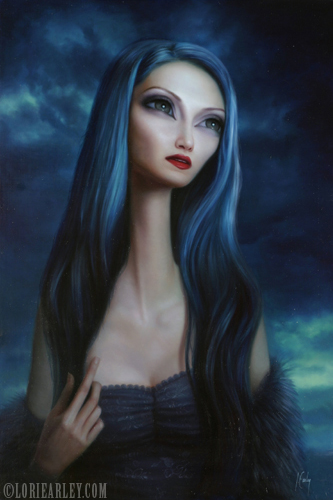Jan 03, 2008 ©Lori Earley The Drought, Oil on Board 2006.