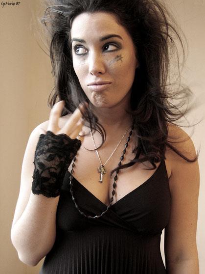Female model photo shoot of Camelia Lefebvre-Rafik in montreal
