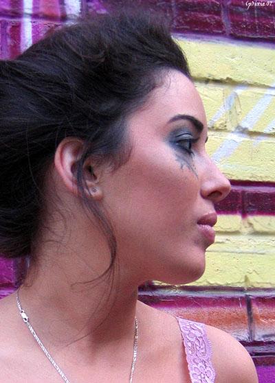 Female model photo shoot of Camelia Lefebvre-Rafik