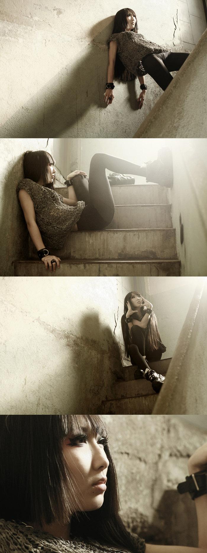 Female model photo shoot of ALLI in somewhere in LA