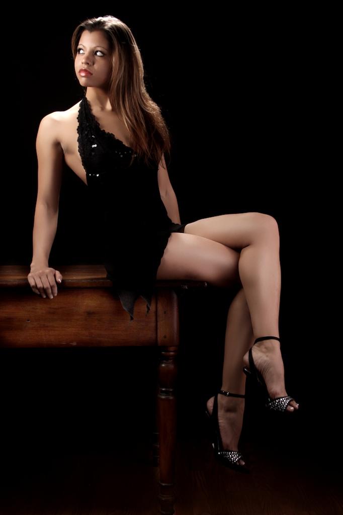 Female model photo shoot of Ashley Henry by robert christopher in Robert Christopher's Studio