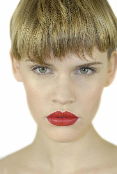 Female model photo shoot of LauraLouise in Jemma Kidd Make-up studio, London