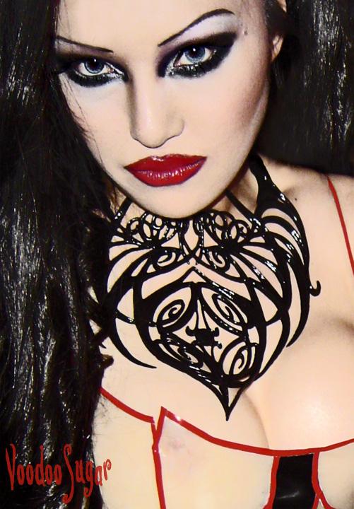 Female model photo shoot of VoodooSugar