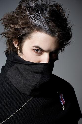 Minneapolis, MN Jan 14, 2008 Drayke Larson Fashion shoot for Blaspheminas Closet