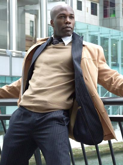 Male model photo shoot of James Wani