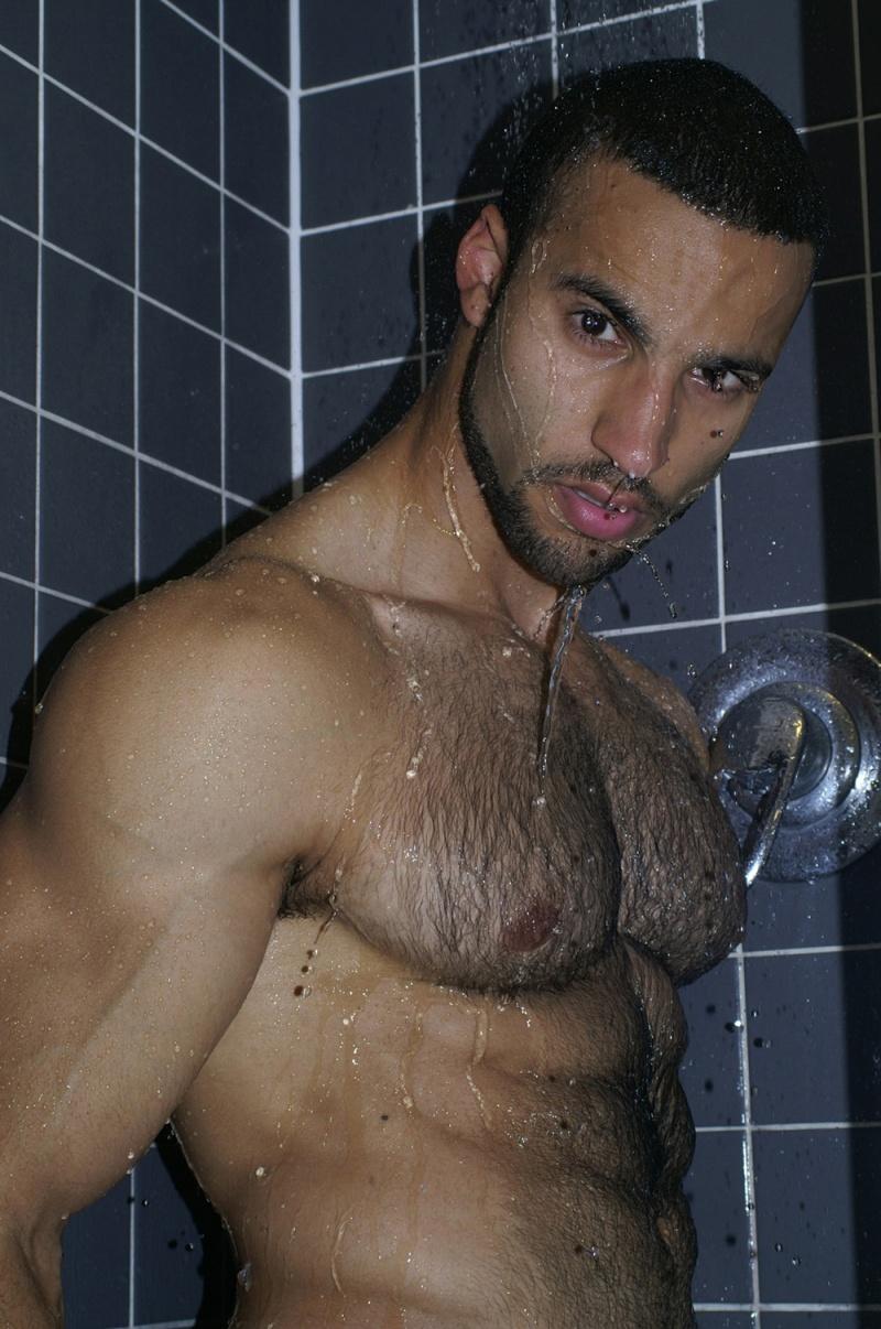 London studio Jan 15, 2008 JC Clark mehmets shower