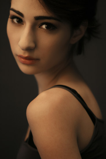 Female model photo shoot of PhotoJennifer and  zohra in Los Angeles, CA, makeup by Luiza Alexanian