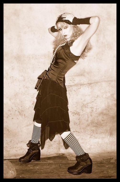 Female model photo shoot of Rosie Rose Darling in New York