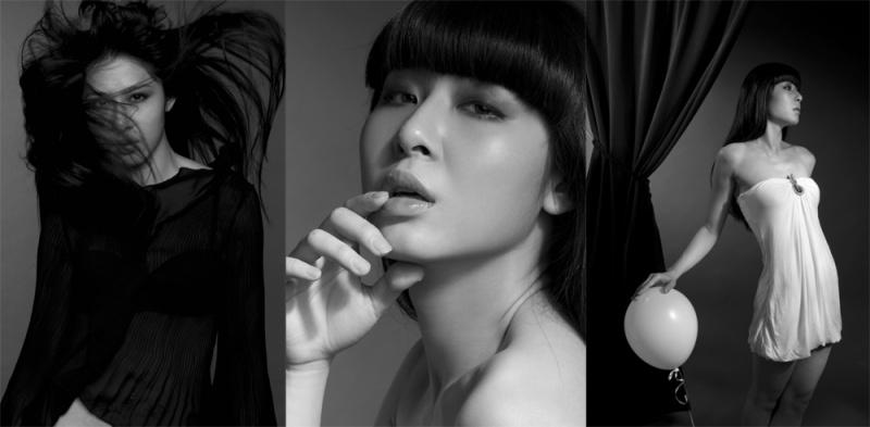 Female model photo shoot of Nadya Lam by Ching Yuen Wah, makeup by N-Wi