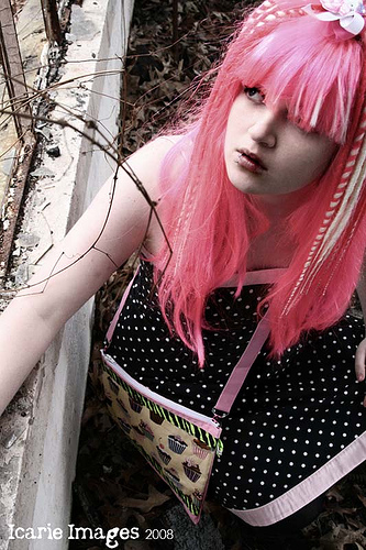 Female model photo shoot of Suicide Dreams Hair and ilovedeadfred18 by KeziahKelseyPhotography