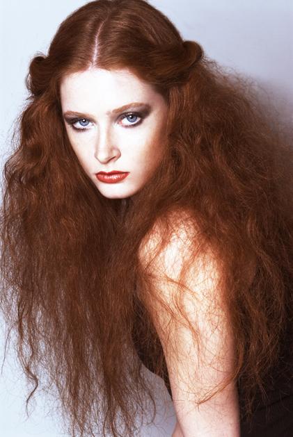 Female model photo shoot of Iman Haji in Inwooooooooooood :) NY NY, makeup by Susana Santos