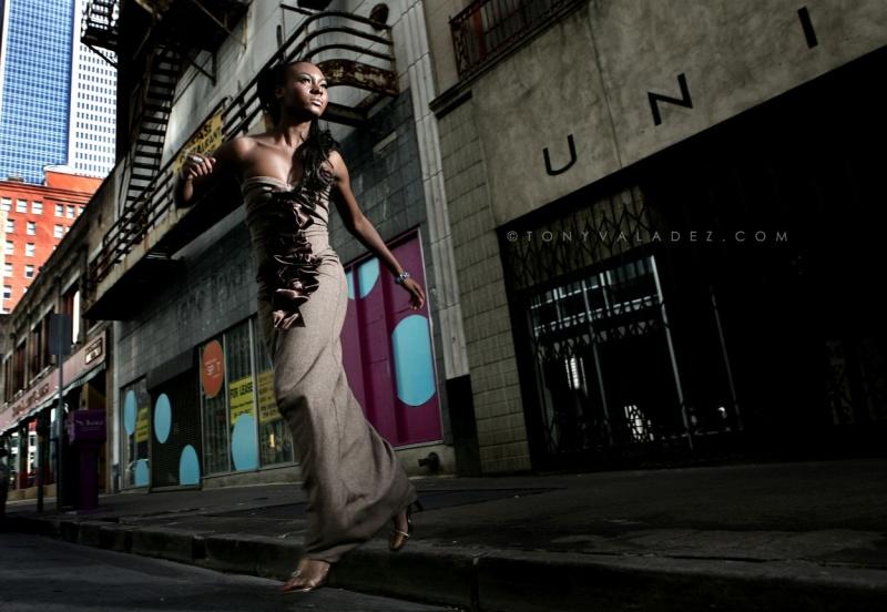 Female model photo shoot of TikiGlam and Amarachi Onyeise by TONY  VALADEZ