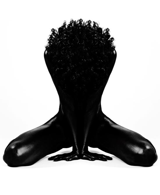 Flowery Branch, GA Jan 21, 2008 Photographer/Hair Stylist: Laretta Houston (For My Book & Exhibit) Forgiveness (Black On White)