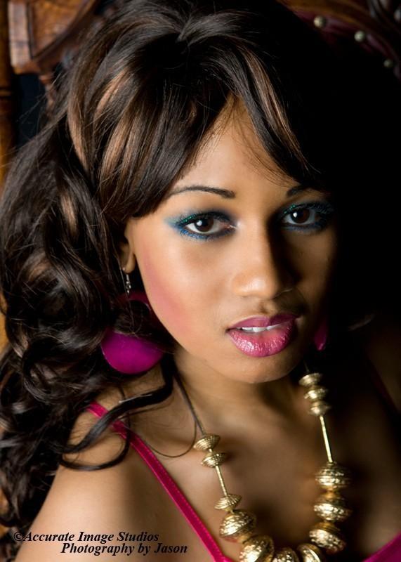 Female model photo shoot of Latoya Shanell in Cermak Super Shoot, makeup by Makeup Artist Gerald