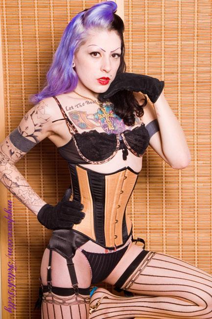 Bambu Tattoo, Providence, RI Jan 21, 2008 TX Fetish Photog Mikos corset