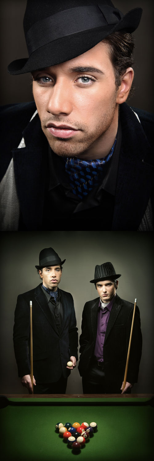 Male model photo shoot of muum 2007 and Giuseppe A DallAntonia by Nuno Silva in Burnaby, makeup by Tommy Beauty Pro