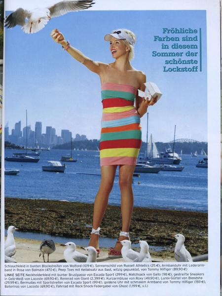 Sydney Jan 22, 2008 SHAPE magazine (Germany)
