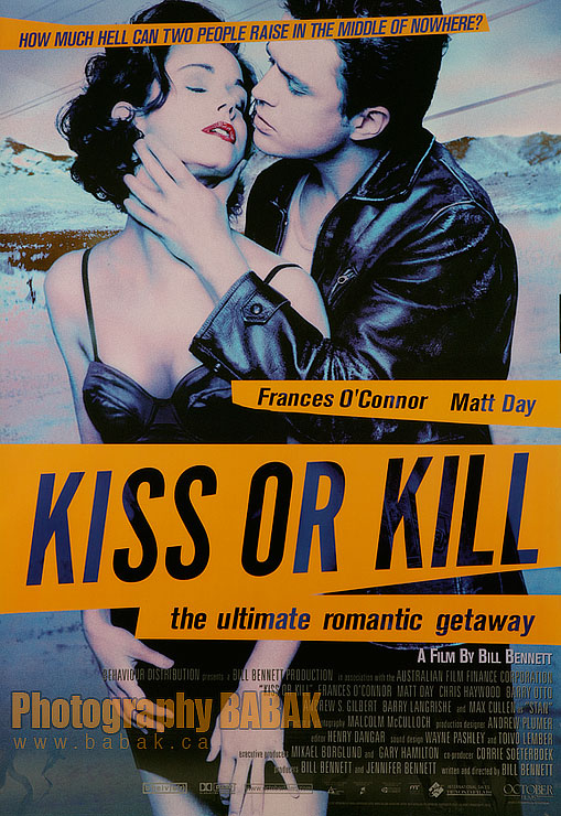 Australia Jan 23, 2008 Babak 07 Kiss or Kill Movie poster