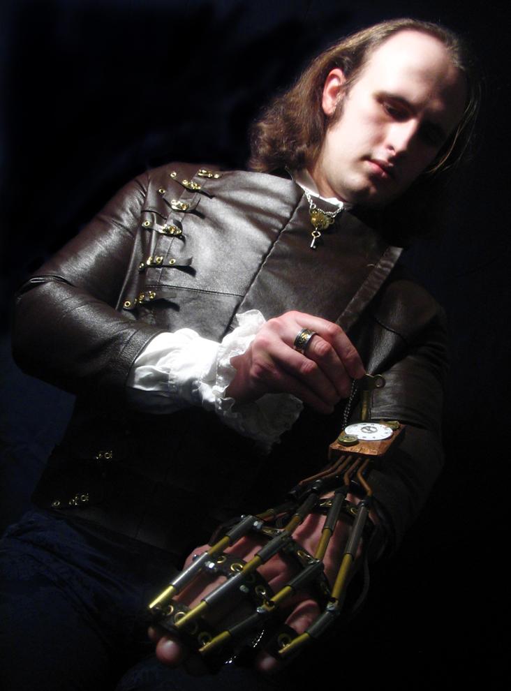 Southampton Jan 23, 2008 2007 Eva Concept Photography Steampunk Exoskeletal Hand