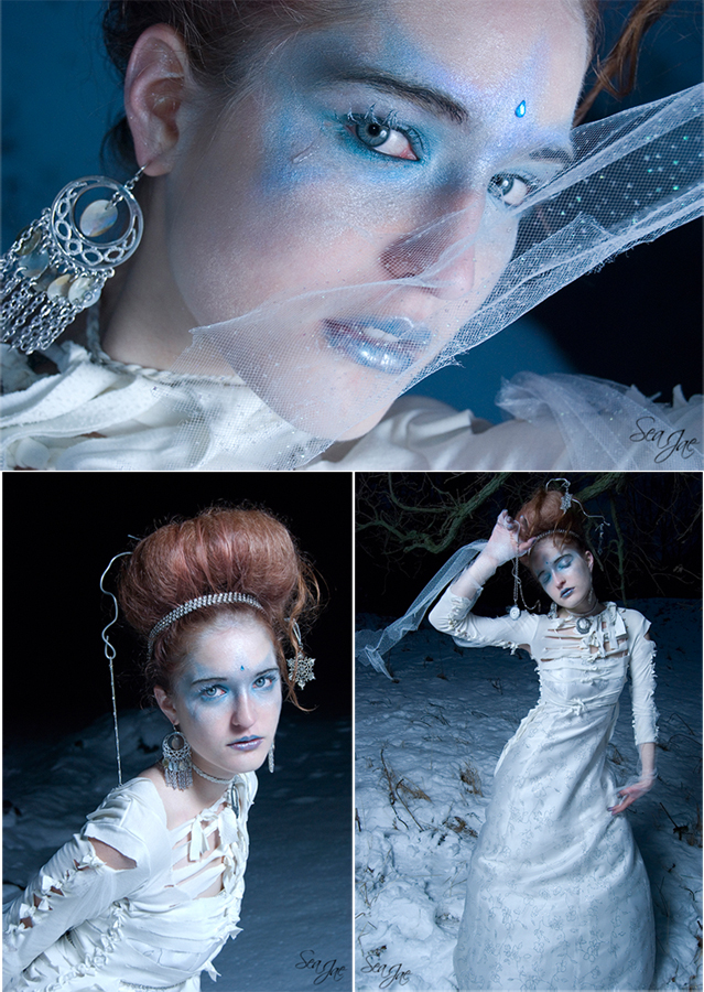 Female model photo shoot of SeaJae - Cirque Studios and Alix Kaden, hair styled by Sophia, makeup by Jeni lee Cupcakes