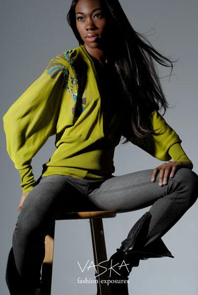 Female model photo shoot of Tru Currie by Vaska in STM Studios