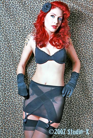 NJ Jan 25, 2008 Studio-X 2007 Sharon TK in Black X Slip